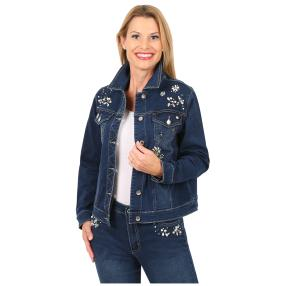 "Jet-Line Damen-Jeansjacke ""Flashing Blue"""