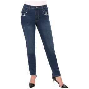 "Jet-Line Damen-Jeans ""Flashing Blue"""