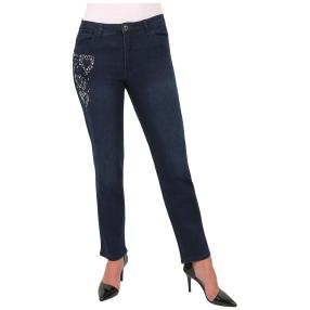 "Jet-Line Damen-Jeans ""In Love with Blue"""