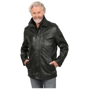 HM Mode Herren-Lederjacke