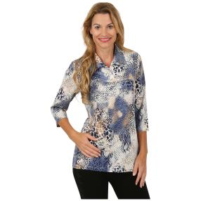 Rössler Selection Damen-Shirt Polokragen