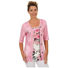 "BRILLIANT SHIRTS Damen-Shirt ""Sweet Rose"""