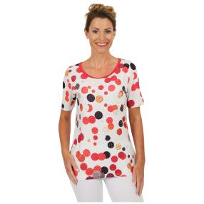 "BRILLIANT SHIRTS Damen-Shirt ""Happy Red"""