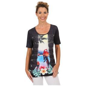 """BRILLIANTSHIRTS Damen-Shirt """"Paradise Parrot"""""""