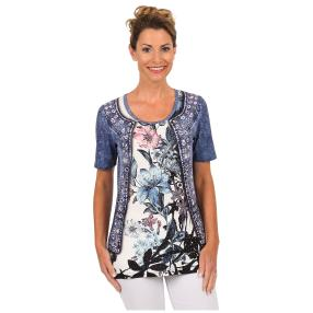 "BRILLIANT SHIRTS Damen-Shirt ""Iris Orchid"""