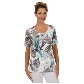 "BRILLIANT SHIRTS Damen-Shirt ""Cool Macaw"""