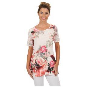 "BRILLIANT SHIRTS Damen-Shirt ""Living Rose"""