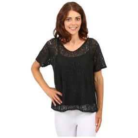 "MADE IN ITALY Damen-Blusen-Shirt ""Sol"", Spitze"