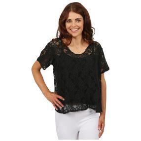 "MADE IN ITALY Damen-Blusen-Shirt ""Estela"", Spitze"
