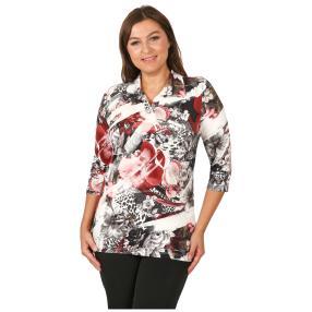 Rössler Selection Damen-Shirt Polokragen
