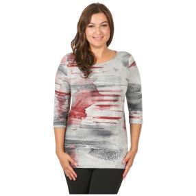 Rössler Selection Damen-Shirt U-Bootausschnitt