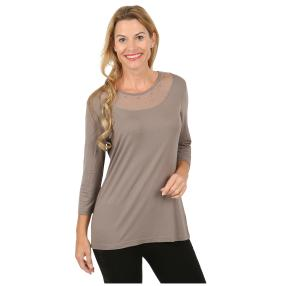 Rössler Selection Damen-Shirt uni