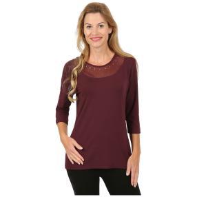 Rössler Selection Damen-Shirt uni