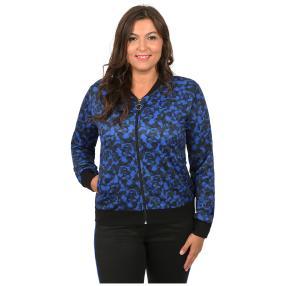 Rössler Selection Damen-Blouson schwarz/blau