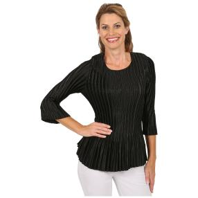 "Jeannie Damen-Plissee-Shirt ""Charléne"""