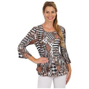 """Jeannie Damen-Plissee-Shirt """"Vianne"""""""