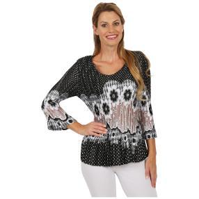 "Jeannie Damen-Plissee-Shirt ""Marielle"""