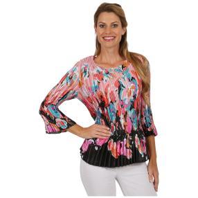 """Jeannie Damen-Plissee-Shirt """"Elodie"""""""