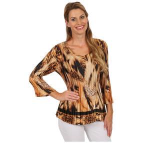 "Jeannie Damen-Plissee-Shirt ""Aimée"""