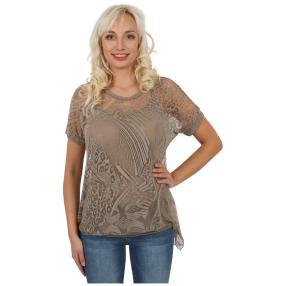 """Damen-Ausbrenner-Shirt mit Top """"Zola"""""""