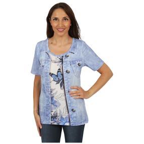"""BRILLIANT SHIRTS Damen-Shirt """"Beloved Butterfly"""""""
