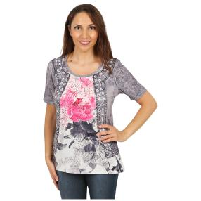"BRILLIANTSHIRTS Damen-Shirt ""Aurora Pink"""