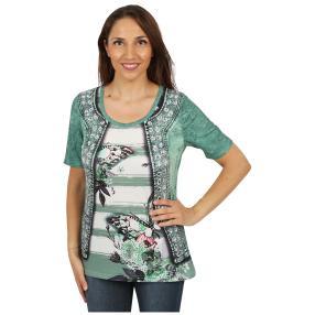 """BRILLIANTSHIRTS Damen-Shirt """"Summer Garden"""""""