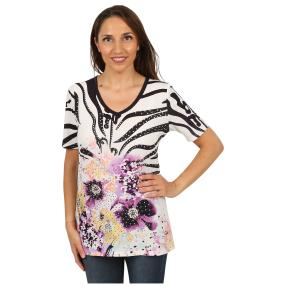 "BRILLIANTSHIRTS Damen-Shirt ""Radiant Orchid"""