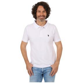 U.S. POLO ASSN. Poloshirt weiß