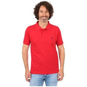 U.S. POLO ASSN. Poloshirt red