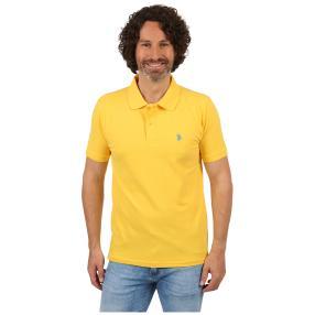 U.S. POLO ASSN. Poloshirt gelb