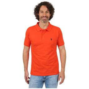 U.S. POLO ASSN. Poloshirt orange