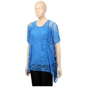 "Damen-Ausbrenner-Shirt mit Top ""Leslie"""