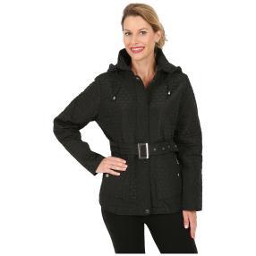 "Damen-Jacke ""Trendy Stitching"", schwarz"