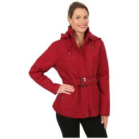 "Damen-Jacke ""Trendy Stitching"", bordeaux"