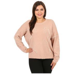 """Damen-Pullover """"Beloved Pearls"""", rosa"""