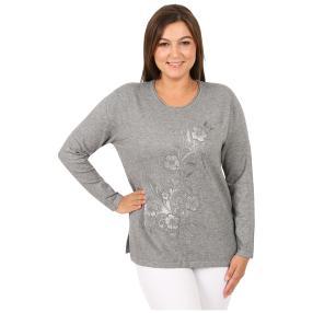 """Damen-Pullover """"Copine"""", grau"""