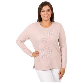 "Damen-Pullover ""Copine"", rosa"