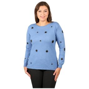 "Damen-Pullover ""Charme"", blau"
