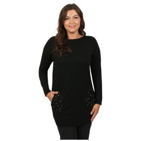 """Damen-Pullover """"Bobonne"""", schwarz"""
