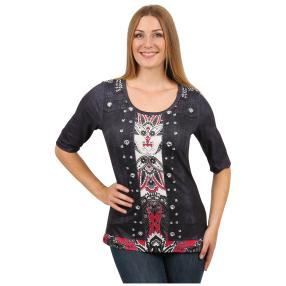 "BRILLIANTSHIRTS Damen-Shirt ""Perfekt Paisley"""