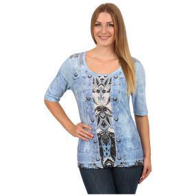 "BRILLIANT SHIRTS Damen-Shirt ""Perfekt Paisley"""