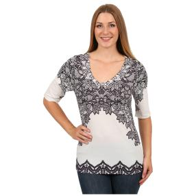 "BRILLIANT SHIRTS Damen-Shirt ""Lovely Lace"""