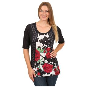 "BRILLIANT SHIRTS Damen-Shirt ""Precious Rose"""