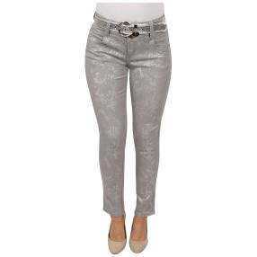 """Jet-Line Damen-Jeans """"Silver Beam"""" mit Gürtel"""
