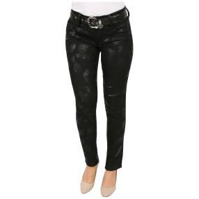 "Jet-Line Damen-Jeans ""Black Ray"" mit Gürtel"