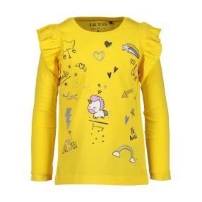 BLUE SEVEN Mädchen-T-Shirt gelb