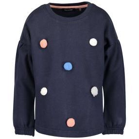 BLUE SEVEN Mädchen-Sweatshirt dunkelblau