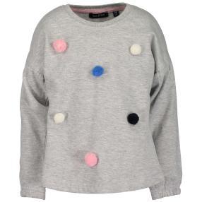 BLUE SEVEN Mädchen-Sweatshirt grau