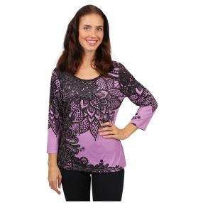 "BRILLIANT SHIRTS Damen-Shirt ""Merletto"""